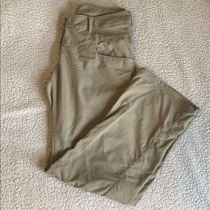 Salomon Hiking Pant Khaki Size 8